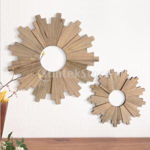家の壁の装飾のための木製の手作りひまわりの壁の装飾飾り stk-shop