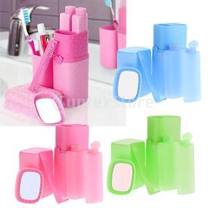 説明: プラスチック歯ブラシトラベルケースは5個あります。 これは、櫛、洗面器の杯、シャンプーボトル...