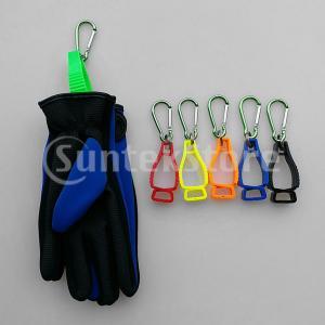 グローブホルダー 手袋ホルダー クリップホルダー グローブ 手袋 タオル カラビナ 手袋管理 使いやすい 全6色|stk-shop