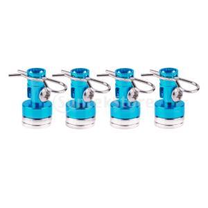 説明: 4本の金属磁気ステルスRCカーシェルカラムボディキット取り付けが簡単で、耐久性があります。 ...
