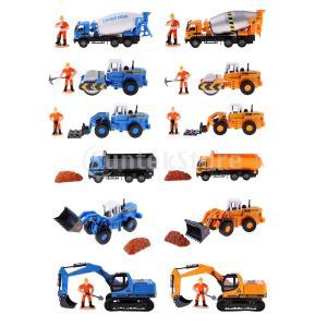 説明:  1/50スケールエンジニアリング車のトラック車の建設車両モデル材質:合金、プラスチックミニ...