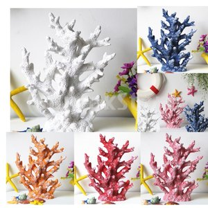 説明: 樹脂製魚タンク用人工珊瑚工場; 水中造園のための環境保護材料; サイズ19.5 x 6 x ...