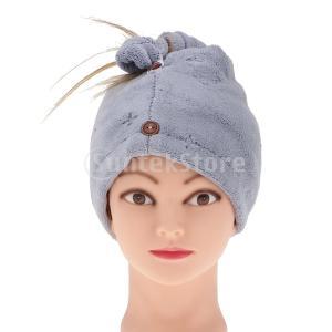 説明: マイクロファイバーの髪タオルははるかに耐久性があり、また、髪の損傷や湿気を失うことなく素早く...