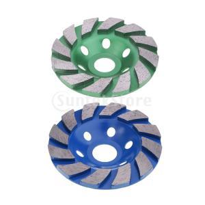 ダイヤモンド研削カップホイールセグメントディスクグラインダーコンクリートストーンとワッシャー|stk-shop