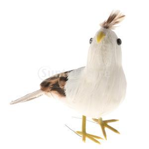 説明: 模擬のためのシミュレーションの羽鳥人工羽根、優れた細部と職人技で作られていますあなたの家、机...