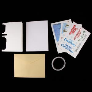 3Dカードはクリスマスカードの休日のカードのDIYの工芸品をポップアップ|stk-shop