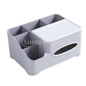 ナプキンホルダーリモコンプラスチック収納ボックスホームデスクティッシュボックス|stk-shop