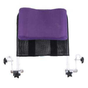 車椅子ネックパッド 低反発 ヘッド、ネックサポート 42.5 x 37 x 10cm 背、ネック、ヘッドの位置の調節可能 通気 人間工学