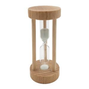 木製の砂時計砂時計の砂時計デスクトップクロック3分|stk-shop