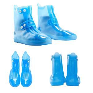 レインシューズカバー 防水 シューズカバー シリコン レインブーツ 靴 雪の日 雨の日 梅雨 雪対策 滑り止め 折りたたみ 携帯便利 通学 通勤 全3色|stk-shop