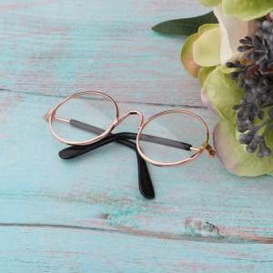 1/6 BJD人形眼鏡メガネフレームBlythe SD YOSD DOD人形のゴールデンフレーム stk-shop