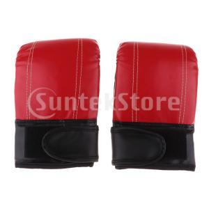 パンチボクシンググローブ ムエ タイ トレーニングミットキックボクシング MMTグローブ 全2色
