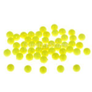50本の釣りのフロートボールEVAの泡のボール魅力的な豆浮力のかわい子 stk-shop
