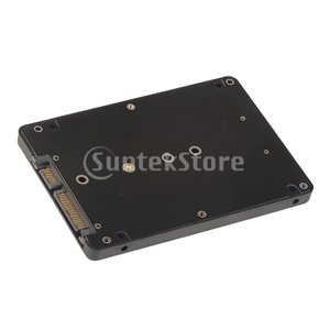 M.2 NGFF SSD  - コンピュータ用ケースケース付き2.5インチSATAアダプタカード|stk-shop