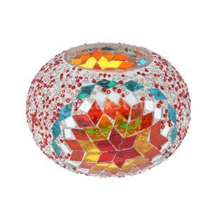 トルコ風ガラスのランプシェード天井のファンのシャンデリアライトシェード