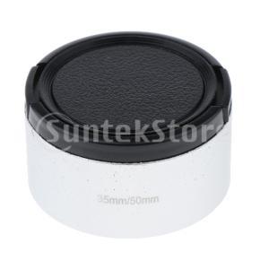 レンズフード 35mm f1.7 50mm f1.4 CCTV Cマウントレンズ用 46mm レンズ...