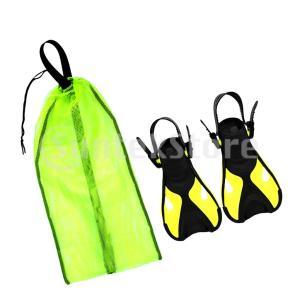 ストラップフィンダイビングフィン  スキューバ  初心者向け スイミング用バッグ PP素材 全3色