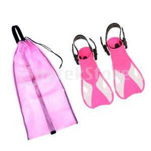 ストラップフィンダイビングフィン  スキューバ  初心者向け スイミング用バッグ 全3選択