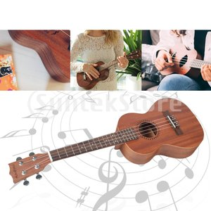 ソプラノ/コンサート/テナーウクレレランチ21/23/26インチプロフェッショナル木製ウクレレ楽器