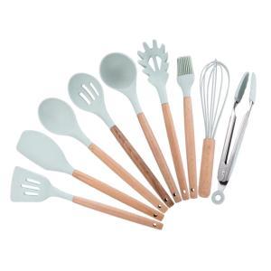 食品用器具セット 溝付きターナー スープスプーン ストレーナー 台所調理器具セット