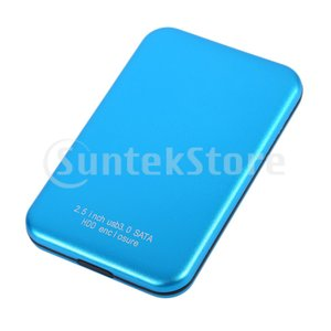 2.5インチ500 GB 1 TB 2 TBブルー外付けハードドライブUSB3.0 SATA HDD SSD For PC Mac