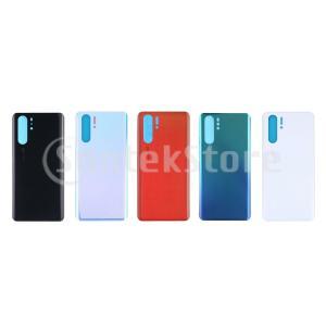 Huawei P30Pro用ハウジングリアパネルガラスバッテリーバックドアスキンケースカバーの交換 ...