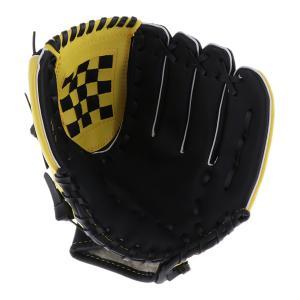 野球グローブ 野球ミット キャッチボール用 左手用 衝撃吸収 全3サイズ