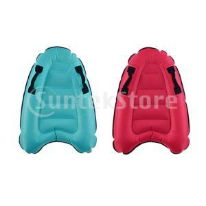 インフレータブル サーフボード エアーボディーボード マット 水遊び用ボート プール ビーチ 全2色|stk-shop
