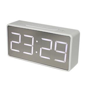置き時計 LED 目覚まし時計 電子時計 USB電源ケーブル付き 全2色|stk-shop