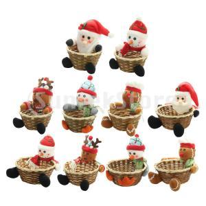 キュートでユニークなクリスマスキャンディー収納バスケットです。 手作りのクリスマスクラフトは、あなた...
