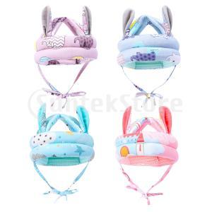 赤ちゃん ヘルメット ウサギ耳 ベビーヘルメット スポンジハット ソフト 衝撃吸収 ケガ防止 可愛い|stk-shop
