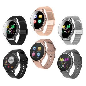 スマートウォッチ防水心拍数モニタースポーツ腕時計|stk-shop