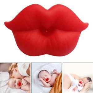 幼児のためのノベルティ唇形おしゃぶりシリコーン赤ちゃんおしゃぶり|stk-shop