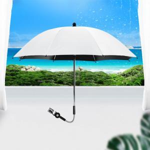 ベビーカー傘75cm直径ベビーカー用パラソル傘、ベビーカー、ベビーカー50 + UV日焼け止め防雨キャノピー|stk-shop