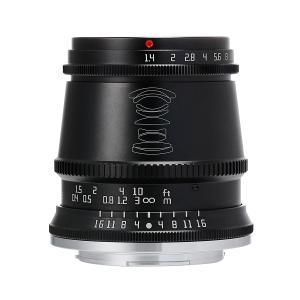 銘匠光学 TTArtisan 17mm f/1.4 C ASPH (キヤノンEF-Mマウント) (ブラック) 単焦点レンズ|stkb
