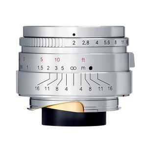 【限定モデル】七工匠 7Artisans 35mm F2 Limited Silver ステンレスシルバー 単焦点レンズ ライカMマウント|stkb