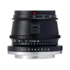 銘匠光学 TTArtisan 35mm f/1.4 C  (キヤノンEF-Mマウント) (ブラック) 単焦点レンズ|stkb