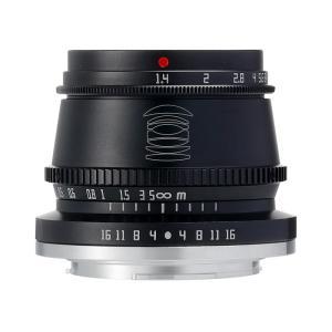 銘匠光学 TTArtisan 35mm f/1.4 C  (富士フイルムXマウント) (ブラック) 単焦点レンズ|stkb