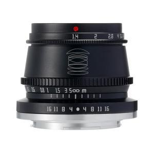 銘匠光学 TTArtisan 35mm f/1.4 C  (ニコンZマウント・APS-C) (ブラック) 単焦点レンズ|stkb