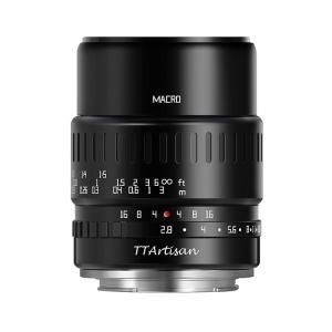 銘匠光学 TTArtisan 40mm f/2.8 MACRO C 単焦点レンズ ブラック (マイクロフォーサーズマウント)|stkb