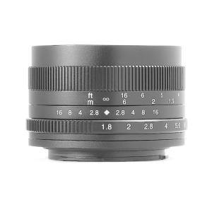 七工匠 7Artisans 50mm F1.8 (キヤノンEF-Mマウント) (ブラック) 単焦点レンズ|stkb