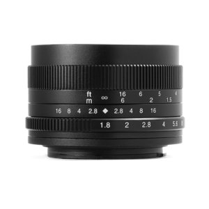 七工匠 7Artisans 50mm F1.8 (フジフイルムXマウント) (ブラック) 単焦点レンズ|stkb