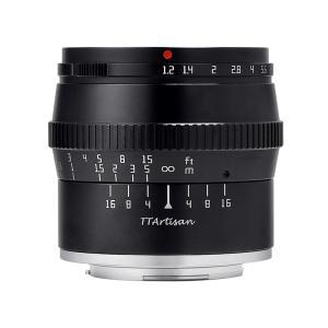 銘匠光学 TTArtisan 50mm f/1.2 C  (富士フイルムXマウント) (ブラック) 単焦点レンズ|stkb