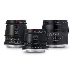 銘匠光学 TTArtisan レンズ3本セット (富士フイルムXマウント) 17mm f/1.4 C ASPH + 35mm f/1.4 C + 50mm f/1.2 C|stkb