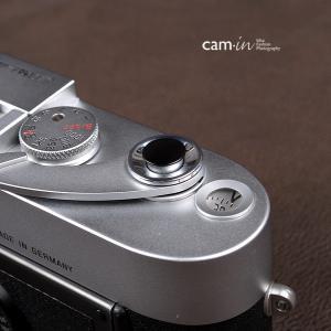 cam-in ソフトシャッターボタン | レリーズボタン 超薄型 凸面 - マットブラック CAM9006|stkb