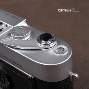 cam-in ソフトシャッターボタン | レリーズボタン オリジナル 凸面 - ライトブラック CAM9009|stkb