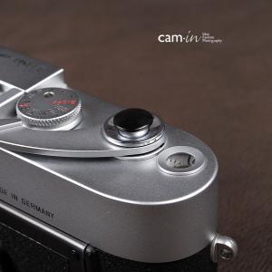 cam-in ソフトシャッターボタン | レリーズボタン オリジナル 凸面 - マットブラック CAM9012|stkb