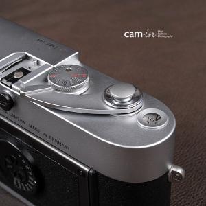 cam-in ソフトシャッターボタン | レリーズボタン オリジナル 凸面 - スチールグレー CAM9013|stkb