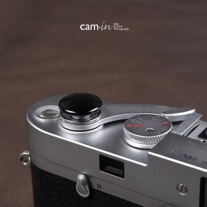 cam-in ソフトシャッターボタン | レリーズボタン ビッグ 凸面 - ライトブラック CAM9027|stkb