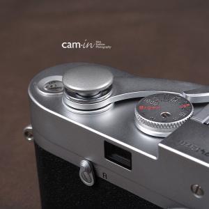 cam-in ソフトシャッターボタン | レリーズボタン ビッグ 凸面 - スチールグレー CAM9029|stkb